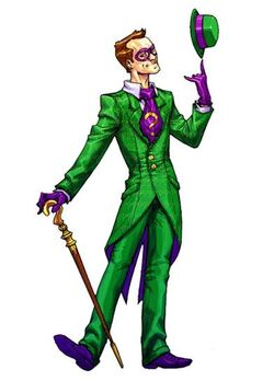 The Riddler in B.A.A
