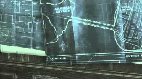 Batman Arkham Asylum Easter Egg - Arkham City Teaser