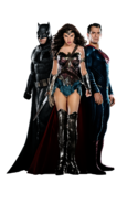 Batman v superman trinity
