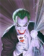 The joker and joker card