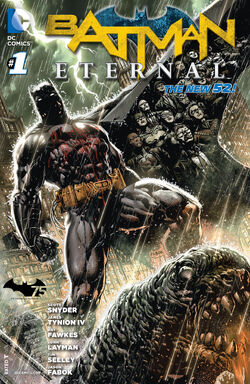 Batman Eternal Vol 1-1 Cover-1