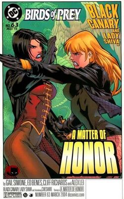 Birds of Prey 63c