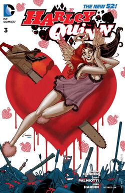 Harley Quinn Vol 2-3 Cover-1