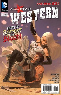 All Star Western Vol 3-8 Cover-1