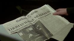 Thomas Wayne Murdered!