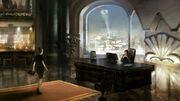 BAK-Bruce Wayne's Office concept