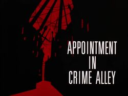 Appointment in Crime Alley Title Card