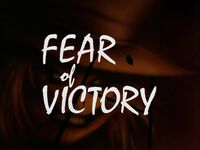 Fear of Victory Title Card