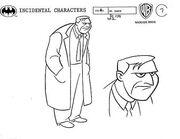 Dr. March Model Sheet