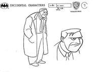 Dr. March Model Sheet