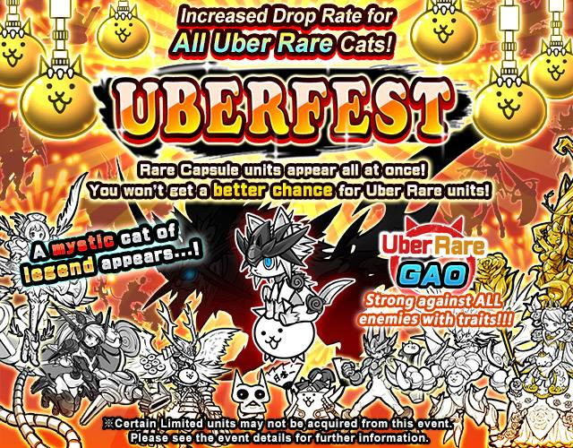 Battle Cats Best Event For Uber