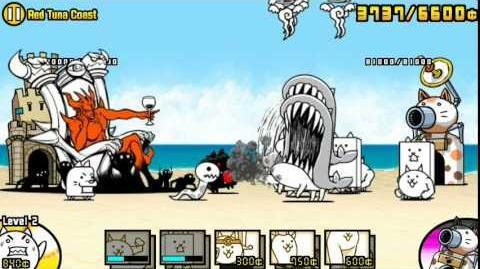 The Battle Cats - Red Tuna Coast - Played by Nurse Wuffa