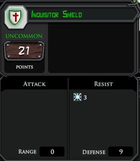 Inquisitor Shield profile