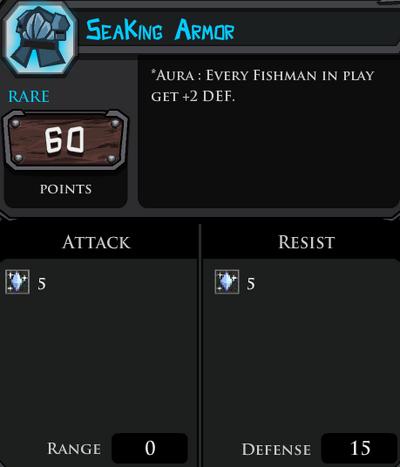 SeaKing Armor profile