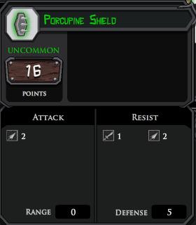 Porcupine Shield profile