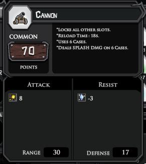 Cannon profile