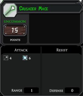 Crusader Mace profile
