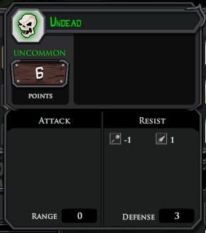 Undead profile