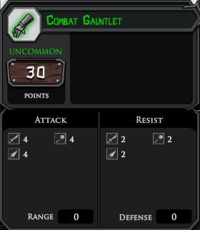 Combat Gauntlet profile