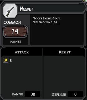 Musket profile