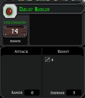 Duelist Buckler profile
