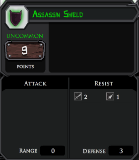 Assassin Shield profile