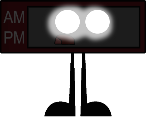 File:Alarm clock as a wraith vector.png