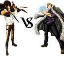 Xanxus vs. Laxus Dreyar