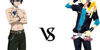 Gray Fullbuster vs. Hayato Gokudera