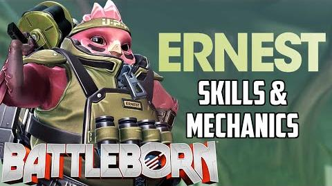 Battleborn New Hero Ernest Skills & Mechanics Analysis