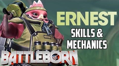 Battleborn New Hero Ernest Skills & Mechanics Analysis