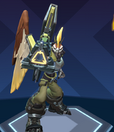 Benedict the rocket hawk skin