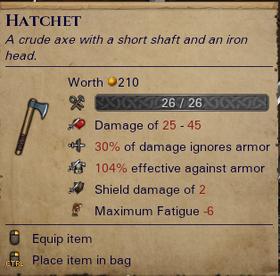 Hatchet info