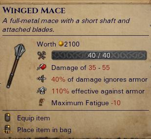 Winged Mace
