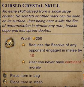 Cursed Crystal Skull