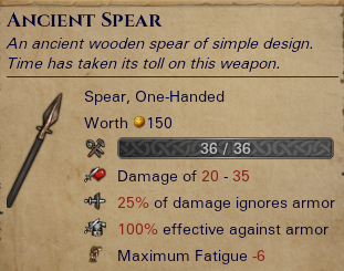 Ancient Spear
