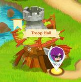 Troop hall