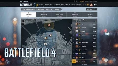 Battlefield 4 Official Battlelog Features Video