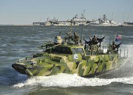 Riverine Command Boat IRL Photo