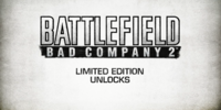 Battlefield: Bad Company 2 Limited Edition Unlocks Trailer