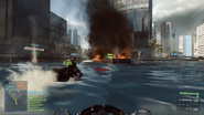 Battlefield 4 Jetski First-Person View