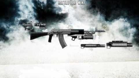 Battlefield Bad Company 2 - AN-94 Abakan Sound