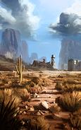Battlefield 4 Desert Map Concept