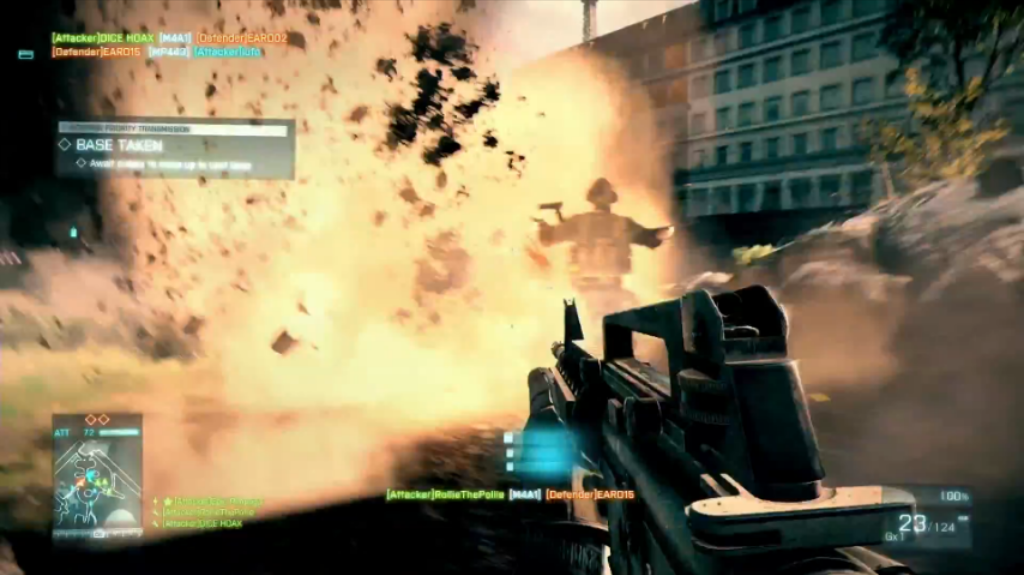 Datei:BF3 Operation Métro trailer screenshot15 M4A1 W-O SCOPE.png