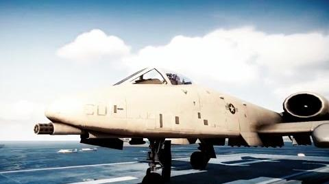 Battlefield 3 A-10 Thunderbolt ll Combat and Flight Demonstration