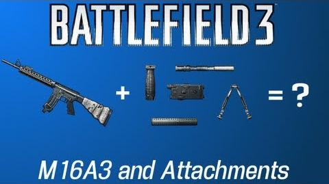 Battlefield 3 The M16A3