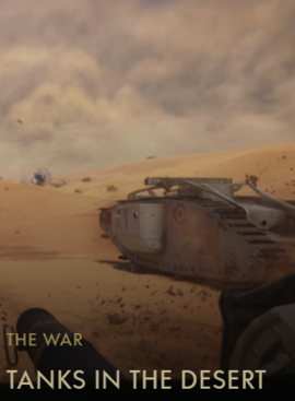 Tanks in the Desert Codex Entry