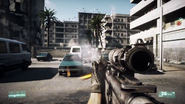 Firing the M4A1 Carbine in the Singleplayer Campaign