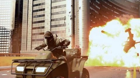 Only in Battlefield 4 Narrow Escape