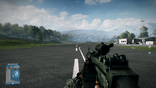 BF3 M249 3.4X Scope